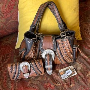 Montana West Shyanne Purse with matching Wallet